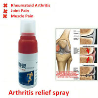 Pain Relief Spray Rheumatism Arthritis Muscle Bone Portable for Knee Waist