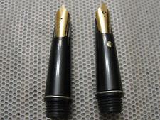 Two Osmiroid Easy Change Gold Calligraphy Italic Medium & B 4 Nibs - England