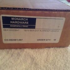Monarch KEA1832DSHT 18/19 Series Exit Device Alarm Kit 32D Stainless Steel cover