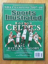 Sports Illustrated Presents BOSTON CELTICS 2008 Champs PAUL PIERCE KEVIN GARNETT