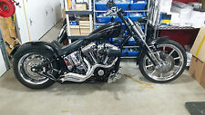 "LAF, POINTED AMBUSH Step Tuned 2-1/2""  Racing EXHAUST Pipes SOFTAIL,CUSTOMS"