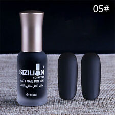 Charm Non-toxic UV Gel Nail Polish Matte Top Coat Frosted Manicure Nail Art 5#