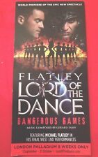 MICHAEL FLATLY SIGNED LORD OF THE DANCE THEATRE FLYER RIVERDANCE