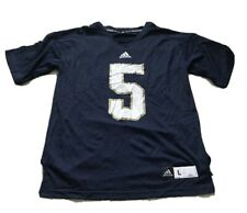 Adidas Notre Dame Football Jersey #5 Men's Large NEW without tags