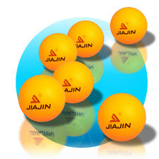 6 Tischtennisbälle Tischtennisball Tischtennis Ø40 PingPong Bällle orange gelb