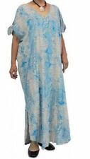 Rayon Full-Length Plus Size Dresses for Women