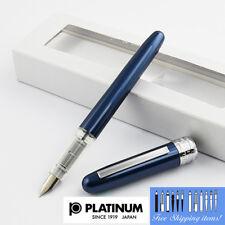 Platinum Plaisir Fountain pen Fine Nib Blue body With Box PGB-1000#56-2 Japan