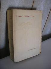 Georges DUHAMEL / Les sept dernières plaies Edition originale 1928