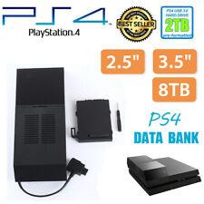 Sony PS4 Data Bank PlayStation Box 2TB Storage Capacity Game Hard Drive External