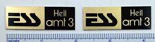ESS Heil amt 3 Speaker Badge Logo Emblem
