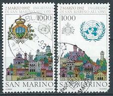 1992 SAN MARINO USATO ONU - VA25