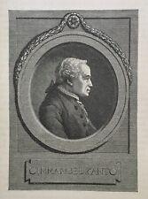 Immanuel Kant - Philosoph - Aufklärung - Kritik der reinen Vernunft