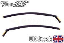 Vauxhall Astra mk5 H GTC 3door hatchback 05-09 wind deflectors 2pc HEKO TINTED