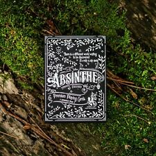 Absinthe V2 Playing Cards Prohibition Series Deck by Ellusionist
