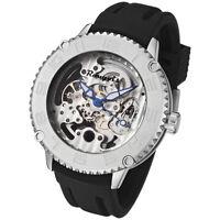 Rougois Skeleton Automatic Mechanical Watch 3285M-M-2