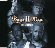 BOYZ II MEN - Can't let her go 4TR CDM 1998 / RnB / SWING