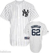 NWT~Majestic NEW YORK YANKEES JOBA CHAMBERLAIN Baseball SEWN Jersey shirt~Men XL