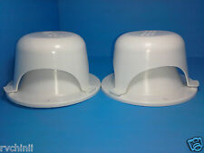 2  Roof Vent Cap for Rv, Motorhome, Trailer, Capers. Special Price Brand New.