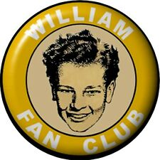 "Just William Fan Club 1"" Pin Badge NEW"