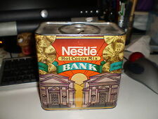 Nestle Hot Cocoa Mix Cardboard Bank