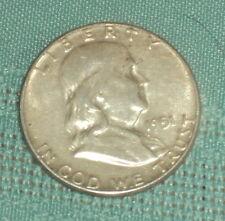 1951 FRANKLIN SILVER HALF DOLLAR 90% SILVER