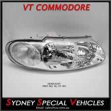 DRIVERS SIDE HEADLIGHT FOR VT COMMODORE WH STATESMAN RIGHT HAND BRAND NEW