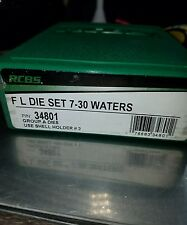 Brand New Rcbs 7-30 Waters Reloading Die Set Reloader Free Shipping 34801