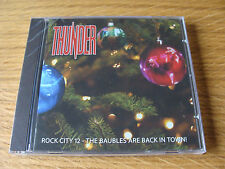 CD Album: Thunder : Rock City 12 The Baubles are Back In Town Xmas 2011 : Sealed