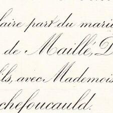 Louis De Maille De La Tour Landry De Plaisance 1886 De La Rochefoucauld