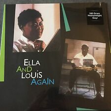 ELLA FITZGERALD AND LOUIS ARMSTRONG 'ELLA AND LOUIS AGAIN 2X VINYL LP NEW SEALED