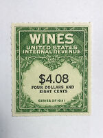 US Revenues Stamps Collection Scott #RE-201 $4.08 WINES Unused MNH NG Cat. @ $50