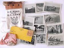 us army louisiana maneuvers photocards and mini us mail us army souvenir [A]