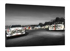 Gruppo B Rally Legends 30x20 pollici tela AUDI S1 FORD RS200 VW Wartburg 205 T16