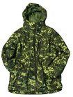 Boys LLBean Ski/Snowboard Jacket Green Digital Camo size 14-16