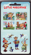 Estonia 2015 MNH - Lotte - Cartoon - booklet with 4 stamps