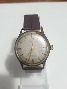 Vintage Armbanduhr Herrenuhr Automatic Ankra 17 Rubis Werk Läuft An