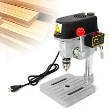 340W Mini Table Electric Drill Press 110V Drill Bits Power Tools 1-10mm 16000Rpm