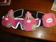 FUELBELT 2 Bottle Pink Belt Running Triathlon Cycling Drink Pink Hydration pocke