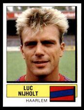 Panini Voetbal 88 (Nederland) Luc Nijholt Haarlem No. 160