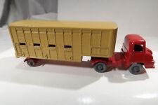 Matchbox Major Pack No 7 Jennings Cattle Truck Grey Wheel