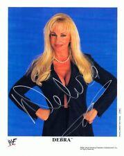 Debra McMichael Signed Autographed 8x10 Promo Photo - w/COA - TNA WWE Diva