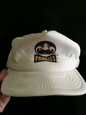 Vintage P&G Pringles Potato Chip Mesh Trucker Snapback Hat Hipster Made in USA