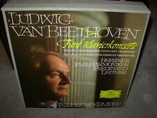 KEMPFF / BEETHOVEN klavierkonzerte ( classical ) 4 lp box dgg BIG TULIP