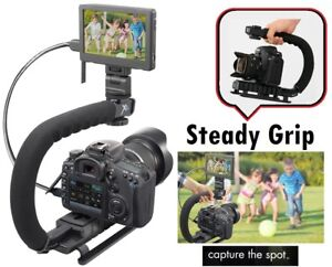 Pro Grip Camera Stabilizing Bracket For Panasonic Lumix DMC-FZ2500 DC-FZ80