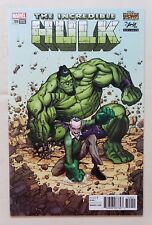 INCREDIBLE HULK #709 STAN LEE BOX VARIANT Rare Marvel Legacy Avengers NEAR MINT