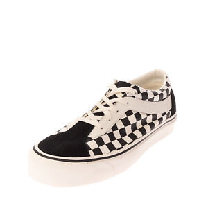 VANS BOLD NI Canvas Sneakers Size 46 UK 11 US 12 ULTRA CUSH LITE Check Lace Up