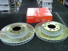 Bmw 330i 330ci 330D E90 Disco De Freno Perforados acanalado Brembo Discos De Freno