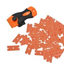100PC Plastic Blades, Vinyl Scraper Paint Glue Remover for Car Home Film Wrap