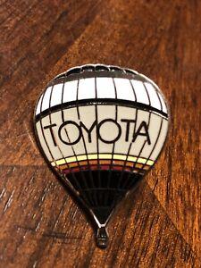"Vintage ""Toyota"" Hot Air Balloon Tie Tack Lapel Pin Button"