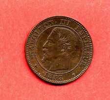 (BR.58) 2 CENTIMES NAPOLÉON III 1853 BB STRASBOURG  (SUP +)